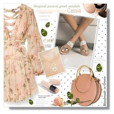 """""""Chicbelledejour"""" by sans-moderation ❤ liked on Polyvore featuring Nude by Nature, Zimmermann, Chloé and Burberry"""