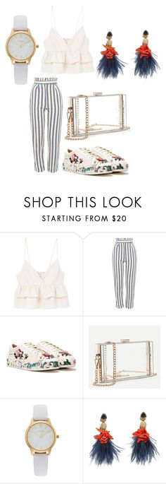 """""""Untitled #128"""" by pippa-nana ❤ liked on Polyvore featuring MANGO, Topshop, Nasty Gal, Vivani and Lizzie Fortunato"""