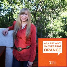 Ask Me Why I'm Wearing Orange #SuliaMoms #NoKidHungry #MomsFightHunger #goorange