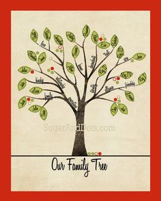 "REMIX: Classroom Family Tree! Have each student put a green (paint) thumb print for the leaves. Let them ""pretty write"" their names in when it dries. *So going to happen in Room 8 next fall!"