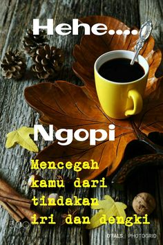 E e bisa jadi sih Words Quotes, Qoutes, Coffee Shop Counter, Photos Tumblr, Wooden Crates, Coffee Art, Coffee Quotes, Islamic Quotes, Life Lessons