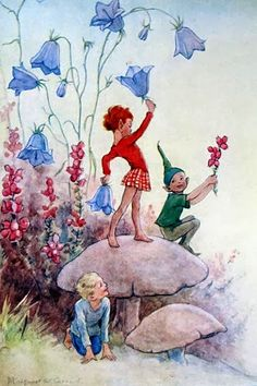 March House Books Blog: Joan in Flowerland by Margaret W. Tarrant