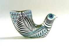 Abraham Palatnik (born in Brazil, lucite dove sculpture / c. Clay Birds, Ceramic Birds, Ceramic Animals, Glass Ceramic, Ceramic Art, Hornsea Pottery, Ceramic Pottery, Vintage Pottery, Vintage Ceramic