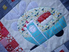 Vantastic Applique Quilt Pattern by braidcraft on Etsy