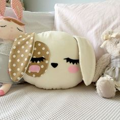 44 trendy sewing pillows for kids etsy Cute Pillows, Baby Pillows, Kids Pillows, Animal Pillows, Patchwork Pillow, Pillow Fabric, Plush Pillow, Sewing Toys, Baby Sewing