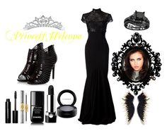 """""""PeA- Princess Helenna Nousbourne #02"""" by juuhblanco ❤ liked on Polyvore featuring Alex Perry, Bobbi Brown Cosmetics, tarte, Chanel, Kate Marie, Marc Jacobs and MAC Cosmetics"""