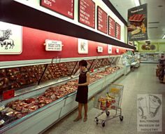 Giant Foods, Baltimore, MD 1967