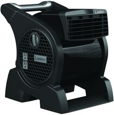 Lasko Pro Performance Pivoting Blower Fan with Integrated Power Outlets is the perfect partner for any job. Window Fans, Tower Fan, Work Site, Janitorial Supplies, Electronic Recycling, Recycling Programs, Color Changing Led, Work Lights, At Home Gym