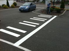 Lot Striping work. contact SMS for a quote.  Superiormaintenancesolutions.com