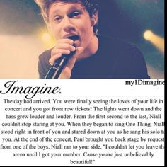 niall horan imagine... If only that could really be me!