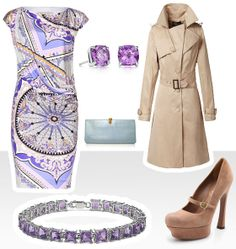 It's about amethyst and silk. Elegant Outfit, Amethyst, Silk, Womens Fashion, Polyvore, Outfits, Image, Dresses, Vestidos