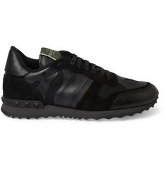 you cant go wrong with black camo valentino. #menswear #sneakers #sportswear