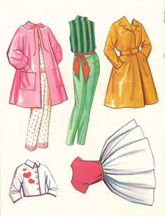 1965 SKOOTER BY WHITMAN. The dolls ARE NOT going to be cardboard like the original because there are no printers that take CARDBOARD. If you want cardboard dolls & stands you will have to buy the original. Barbie Paper Dolls, Paper Dolls Book, Barbie Skipper, Vintage Paper Dolls, Anime Outfits, New Outfits, Fashion Design Drawings, Doll Stands, Childhood Toys