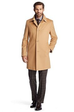 Wool coat with cashmere 'The Task5' by BOSS