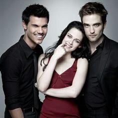 #fbf Siempre iluminas mi día con tu sonrisa Taylor Lautner Kristen Stewart y Robert Pattinson
