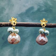 2 Hr Sale Gorgeous moonstone  earrings These are simply stung onion cut, Baluch moonstone and silver stones hanging on a delicate 24k gold over sterling silver post. Approximate length 0.92 inches. These will work with any color and style. Great for everyday to theodicy or for a night out. I really do Love love love them! Matana Jewelry Earrings