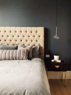 Buy Hertz Bedside Table Online in Australia | BROSA King Size Bed Head, King Size Bed Frame, Queen Size Bedding, Bedding Sets, Interior Styling, Interior Design, Inside Home, Room Inspiration, Storage Spaces