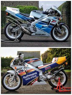 Suzuki RGV250 & Honda NSR 250