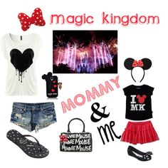 A fashion look from September 2013 featuring H&M t-shirts, H&M shorts and Samsung tech accessories. Browse and shop related looks. Disneyland Outfits, Disney Outfits, Disneyland Trip, Disney Vacations, Mommy And Me Outfits, Girl Outfits, Cute Outfits, Cute Fashion, Kids Fashion