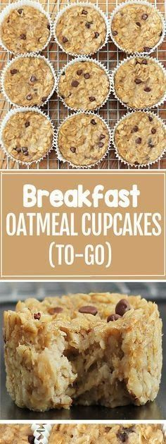 Ingredients 5 cups rolled oats 2 1 2 cups over-ripe mashed banana For all substitutions see nutrition link below 1 tsp salt 5 tb Healthy Banana Recipes, Oats Recipes, Smoothie Recipes, Recipies, Oatmeal Cupcakes, Oatmeal Cake, Baked Oatmeal, Rolled Oats Recipe, Banana Roll