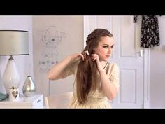 Lace Braided Ponytail Hair Tutorial. Very neat hair style.  The video is long, but you get to see the entire process.