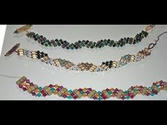 Easy Weaved Zig Zag Bracelet - YouTube