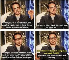 Avengers and iron man 3