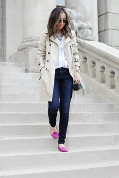 spring flurries...with closet staples