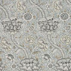 Wandle Grey/Stone tapet från William Morris & Co - Tapetorama Plush Carpet, Diy Carpet, Modern Carpet, Carpet Ideas, Stair Carpet, Wall Carpet, Cheap Carpet, Living Room Carpet, Bedroom Carpet