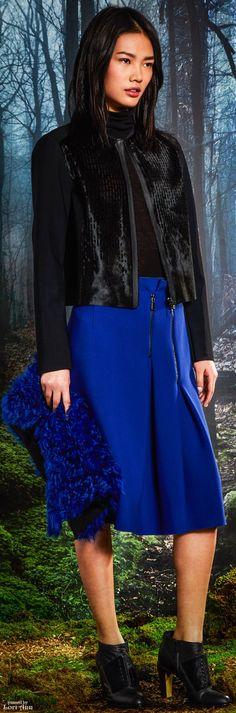 Elie Tahari Fall 2015 Ready-to-Wear Fashion Show Milan Fashion, Fashion Show, Fashion Design, Warm Dresses, New York, Elie Tahari, Ready To Wear, Winter Fashion, Women Wear