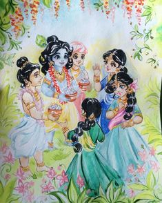 Krishna Lila, Little Krishna, Cute Krishna, Radha Krishna Photo, Krishna Radha, Shree Krishna Wallpapers, Lord Krishna Hd Wallpaper, Krishna Drawing, Krishna Painting