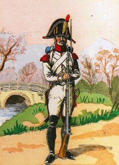 Granatiere olandese della guardia imperiale francese