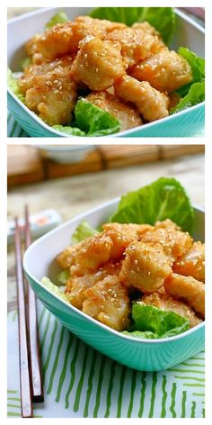 Chinese Honey Chicken recipe - crazy delish, 30-minutes, super easy to make, and everyone loves it | Easy Asian Recipes http://rasamalaysia.com