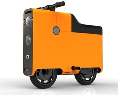 Boxx electric scooter by Boxxcorp | Cost: 4,000 - http://www.boxxcorp.com/brochure/boxx