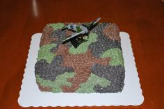 Michael's Camo Cake