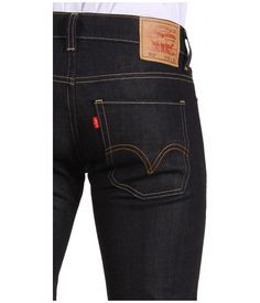 Between a skinny and straight fit, the 511 slim fit jeans are cut close without being too restricting. The 511 is cut close through the thigh with a slim, lightly tapered fit through the leg. African Shirts, Mens Essentials, Raw Denim, Sharp Dressed Man, Best Jeans, Dress For Success, True Religion Jeans, Mens Clothing Styles, Casual Wear