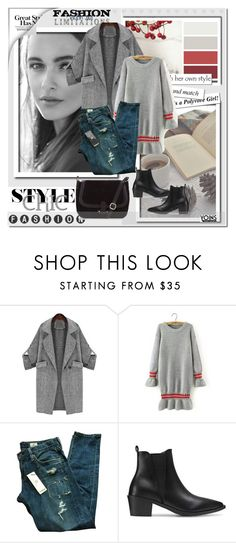 """""""Yoins17"""" by angel-a-m ❤ liked on Polyvore featuring AG Adriano Goldschmied and yoins"""