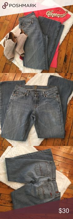 7 for All Mankind Jeans Flare jeans by Seven for All Mankind. 7 For All Mankind Jeans Flare & Wide Leg