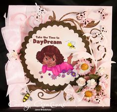 using - Daydream with Sentiment by Digi Blessing - One Stitch at a Time, StitchyBear Digital Outlet