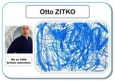 Otto Zitko - Portrait d artiste Bridget Riley, Art Mat, Ecole Art, Kindergarten Art, Oeuvre D'art, Oeuvres, Art Plastique, Art Activities, Art Therapy