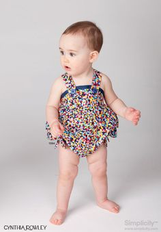 Tutorial Apron Halter Top For Baby Girls Sewing Craftgossip Com