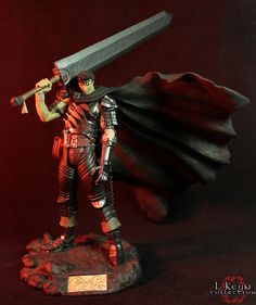 Guts: Black Swordsman (Normal Edition) (Berserk). Производитель: Art of War. Год выпуска: 2007 г.