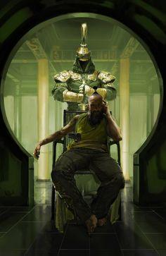 Iron Man 3 - The Mandarin concept art by Ryan Meinerding *