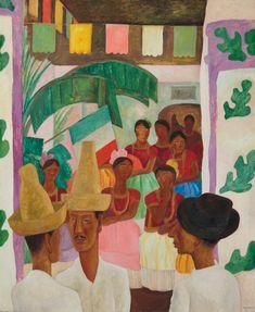 Inside the Mind of David Rockefeller, Titan of Art Collecting - Artsy Diego Rivera Art, Diego Rivera Frida Kahlo, Robert Motherwell, Jackson Pollock, Jose Maria Velasco, David Rockefeller, Blue Lantern, The Rival, Best Canvas