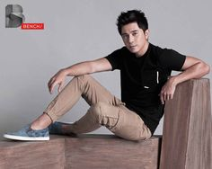 Paulo Avelino for Bench (ctto) Paulo Avelino, Half Filipino, Star Magic, Discount Coupons, Actors & Actresses, Fashion Models, Shop Now, Singer, Men's Apparel