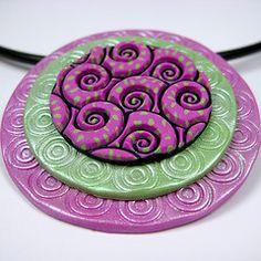 Sutton Slice pendant. I like the dots