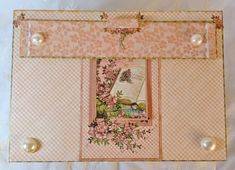 annes papercreations: Boxed mini album featuring Graphic 45 Once upon a springtime
