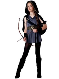 Tween Hooded Huntress Costume | Wholesale Tween Costumes for Girls