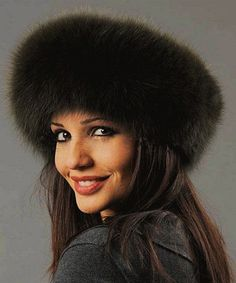 53f58ff79fd17 Fashionable Men Women Faux Fur Sable Hats Fox Fur
