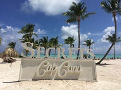 You'll know when you arrive in paradise from the second you hit the beach at Secrets Cap Cana!